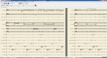 MuseScore 画面